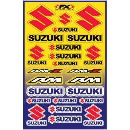 Planche de stickers FX SUZUKI