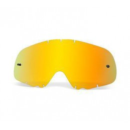 Ecran iridium gold anti-buée OAKLEY CROWBAR