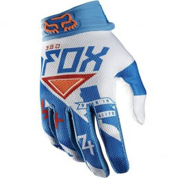 Gants FOX 360 INTAKE Blue