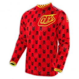 Maillot Troy Lee Designs GP AIR Anarchy Red/Flo Yellow