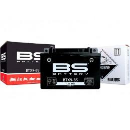 Batterie BS BT9B-BS + pack acide