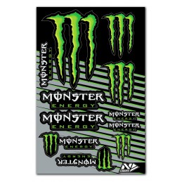 Planche stickers N'STYLE Monster Energy V1