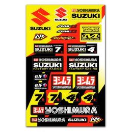 Planche stickers N'STYLE Suzuki Yoshimura