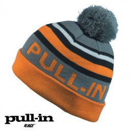 Bonnet PULL IN STRIPES Black/Orange