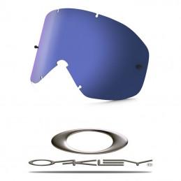 Ecran iridium bleu anti-buée OAKLEY O2-MX