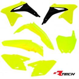Kit plastique R-TECH RMZ 450 Fluo