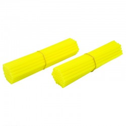 Couvres rayons pour roues AV 21' et AR 18-19' JAUNE FLUO