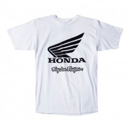Tee-shirt TLD HONDA Wings white