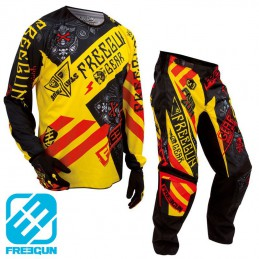 Tenue FREEGUN DEVO BANDANA Yellow/Red