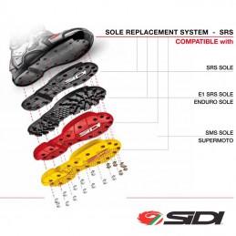 Kit vis + rondelle de semelles SIDI CROSSFIRE SRS