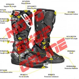 SPARE PARTS SIDI CROSSFIRE 2 SRS