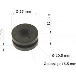 Silent bloc radiateur CR125/250R