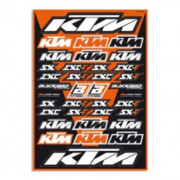Planche stickers BLACKBIRD KTM