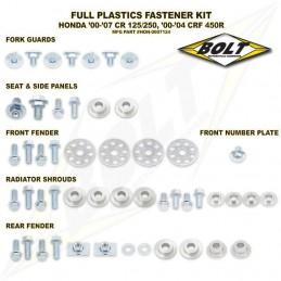 Kit vis complet de plastiques BOLT CR 125