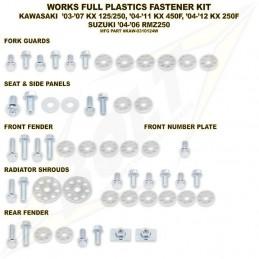 Kit vis complet de plastiques BOLT KX 250
