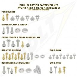 Kit vis complet de plastiques BOLT KTM EXC/EXC-F