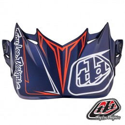 Visière Troy Lee Designs SE4 PINSTRIPE Blue