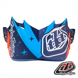 Visière Troy Lee Designs SE4 TWILIGHT Blue