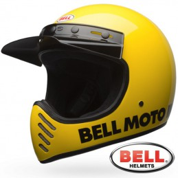 Casque BELL MOTO 3 Yellow