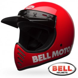 Casque BELL MOTO 3 Red