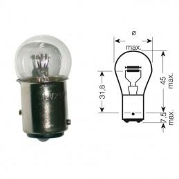 Ampoule petit verre BAY15D 12V 21/5W