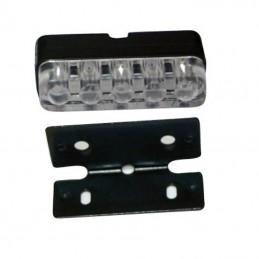 Éclairage de plaque d'immatriculation LED