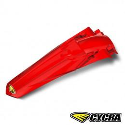 Garde boue arrière CYCRA POWERFLOW CRF 250 rouge