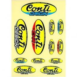 Planche de stickers CONTI