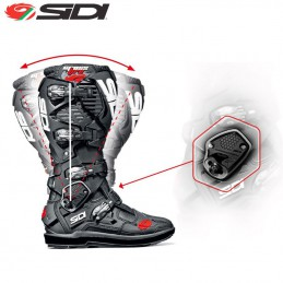 Bottes SIDI CROSSFIRE 3 SRS Black/White/Yellow