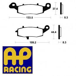 Plaquettes de frein AP RACING LMP304ST
