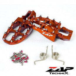 Repose-pieds ZAP TECNIX SX 250 orange