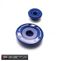 Bouchons de réglage de distribution YZF 450 bleu