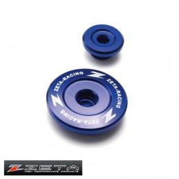 Bouchons de réglage de distribution YZF 250 bleu