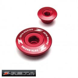 Bouchons de réglage de distribution CRF 450 rouge