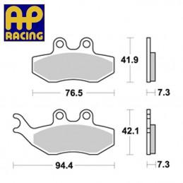Plaquettes de frein AP RACING LMP374 ST