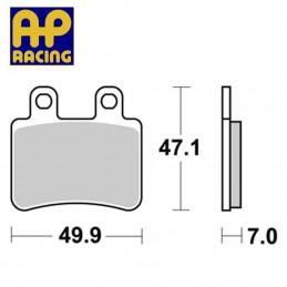 Plaquettes de frein AP RACING LMP373 ST