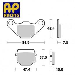 Plaquettes de freins AP RACING LMP148 ST