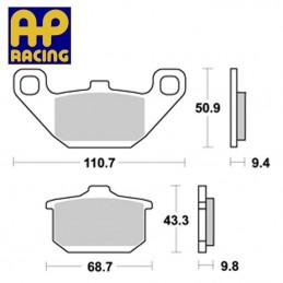Plaquettes de freins AP RACING LMP157ST