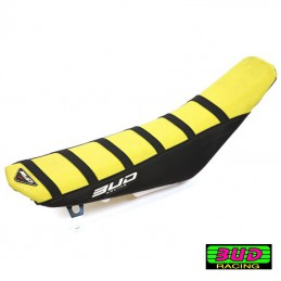 Housse de selle BUD RACING 85 RM Jaune