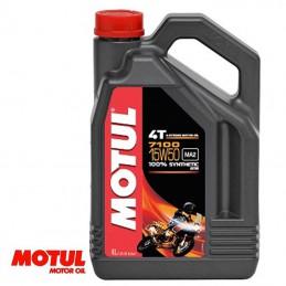 Huile moteur 4 temps MOTUL 7100 15W50 Bidon de 4 litres