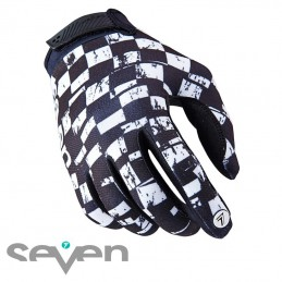 Gants SEVEN ANNEX Checkmate white
