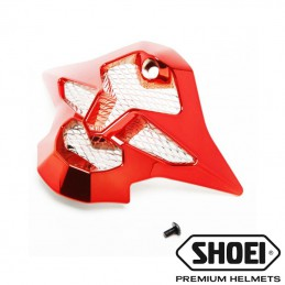 Mentonnière SHOEI VFX-W Chrome rouge