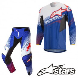 Tenue ALPINESTARS TECHSTAR FACTORY Blue