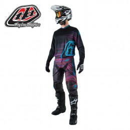 Tenue Troy Lee Designs GP ELECTRO Black