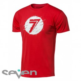 Tee shirt SEVEN MX DOT Red