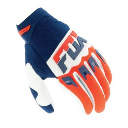 Gants FOX DIRTPAW MAKO Navy/Red