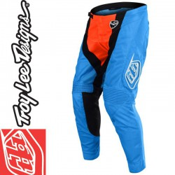 Pantalon Troy Lee Designs 2018 SE Air Squadra Cyan/Orange