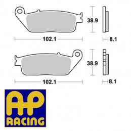 Plaquettes de frein AP RACING LMP227SF