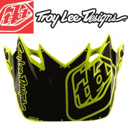 Visière Troy Lee Designs SE4 Factory yellow