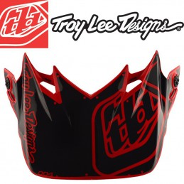 Visière Troy Lee Designs SE4 Factory red
